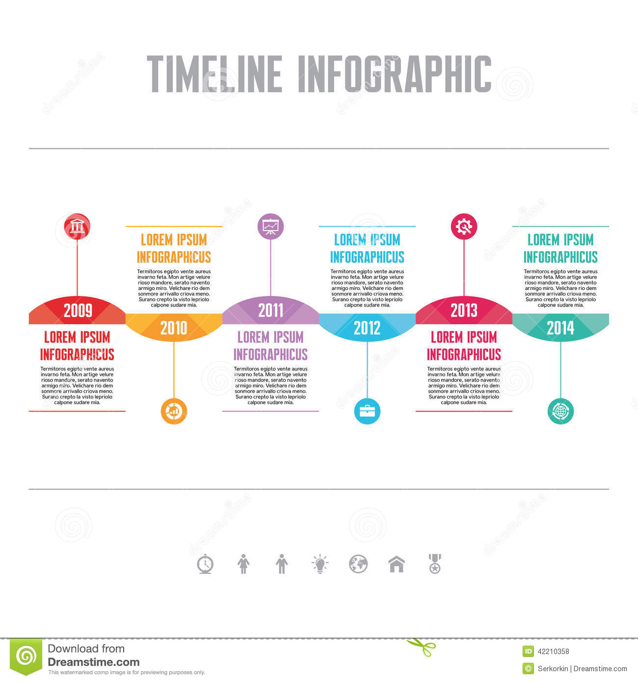 9 Infographics Timeline Design Template Images - Free ...  Creative Timeline Project Ideas