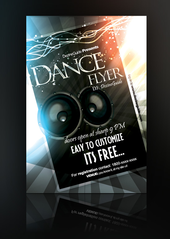 Dance Flyers Templates Free