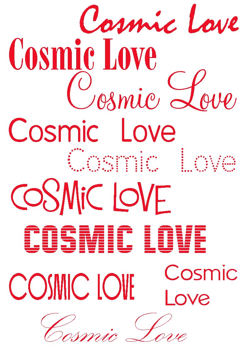15 Love Font Styles Images