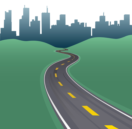 Different Road Vector Design