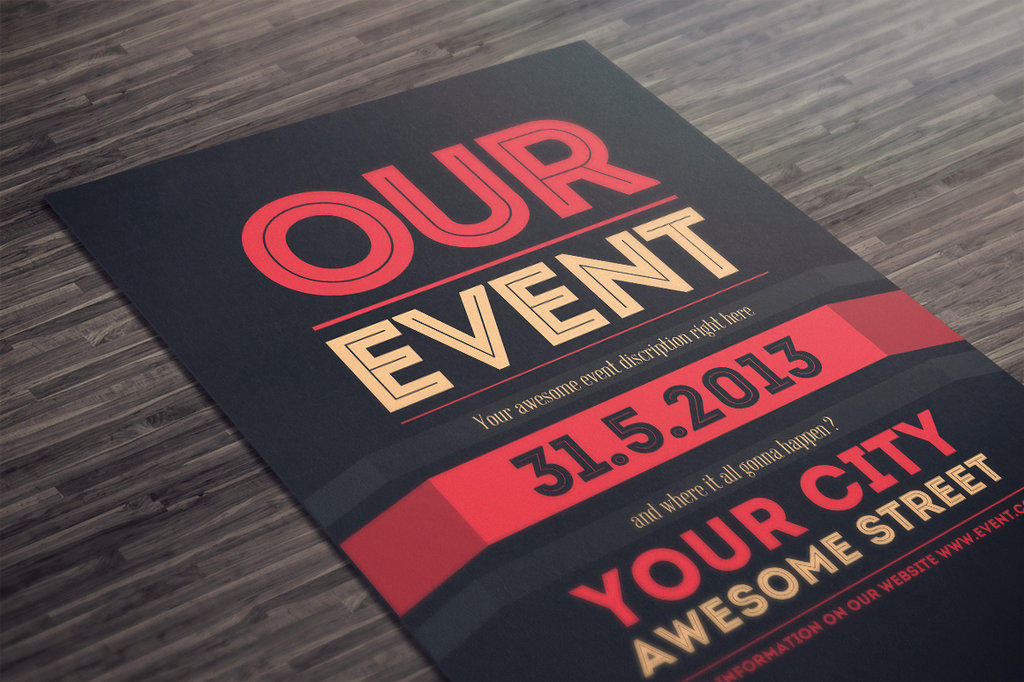 Event Flyer Template Photoshop