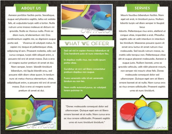 Free 3 Fold Brochures Template