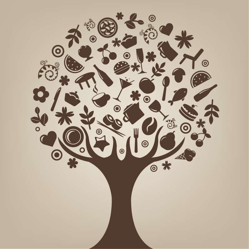 Free Abstract Vector Tree Clip Art