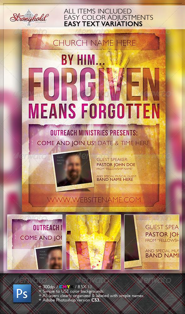Free Church Flyer Design Templates