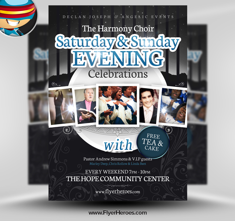 14 photoshop template church flyers images free psd for Free church flyer templates photoshop