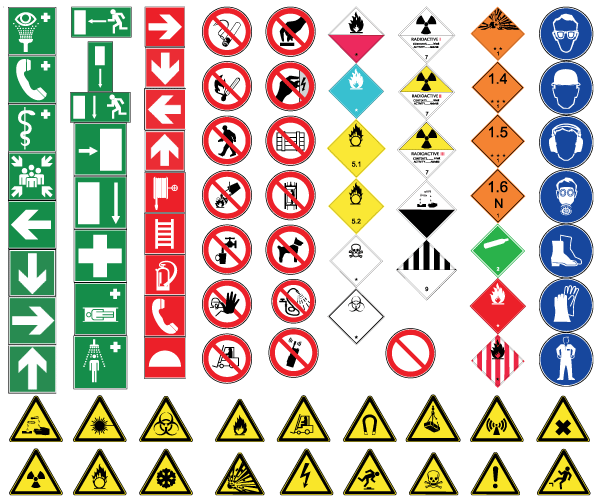 15 Safety Icons Vector Images