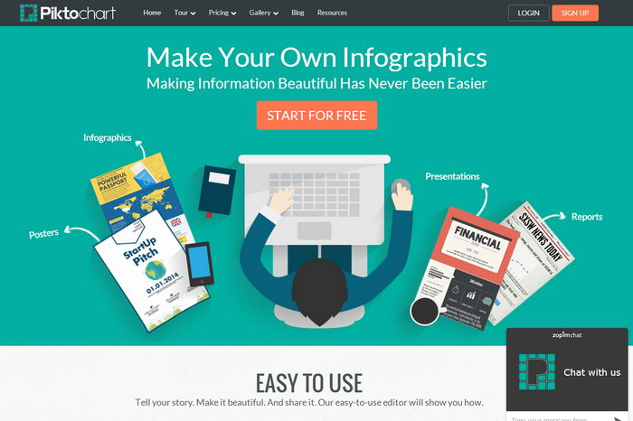 15 graphic design piktochart infographics images