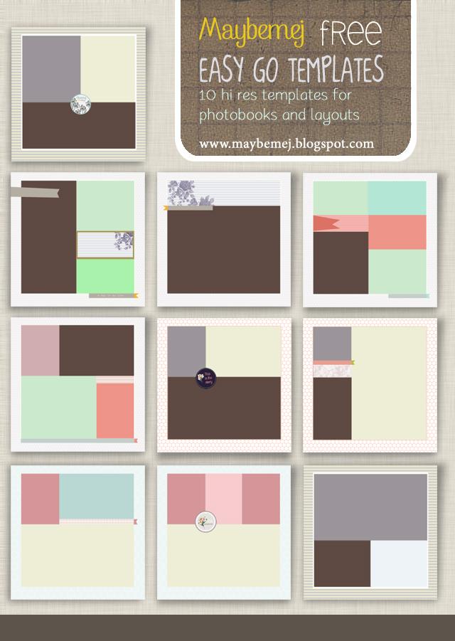 Free Photoshop Book Templates