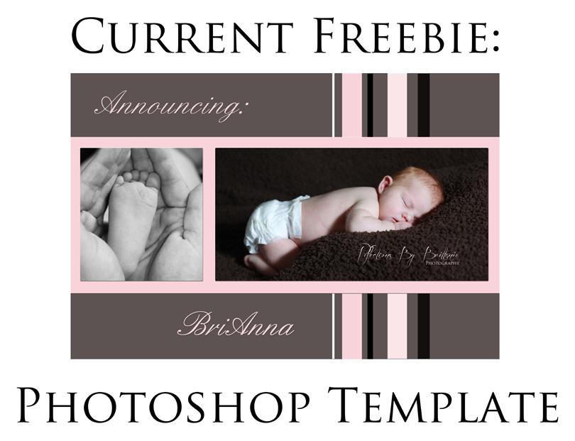 Free Photoshop Photography Templates