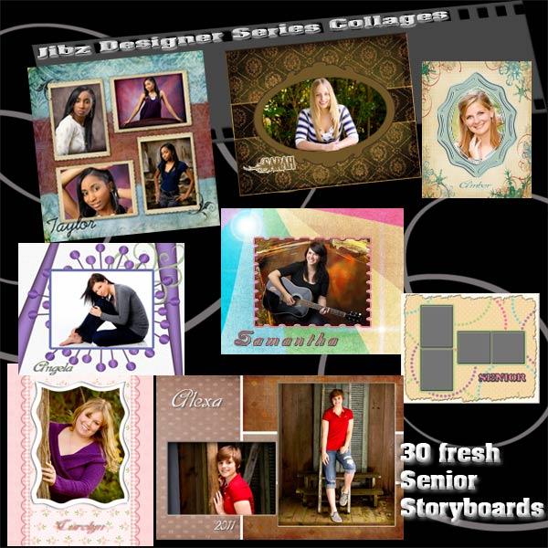 Free Photoshop Senior Collage Templates