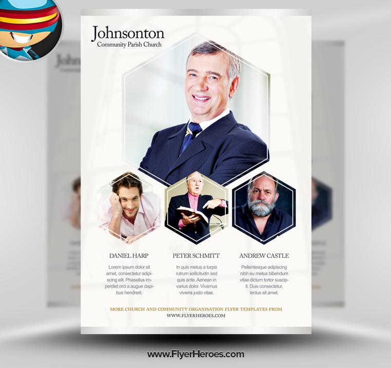 Free Psd Church Flyer Templates