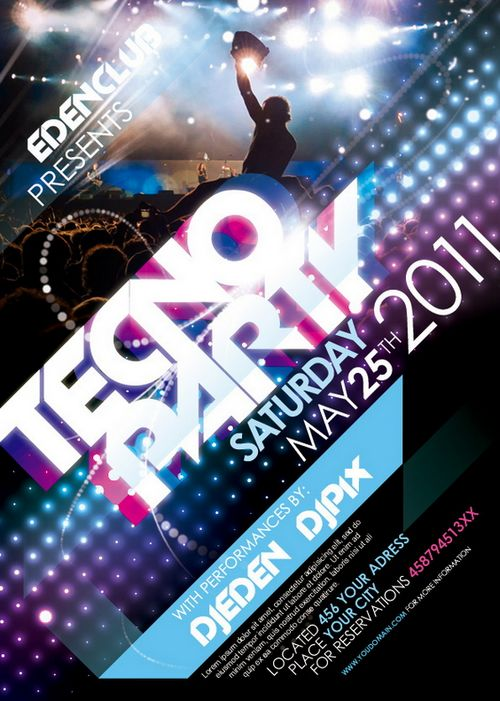 13 Free Party Flyer Templates Photoshop Images - Free Party Flyer ...