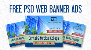 Free PSD Web Banner Templates