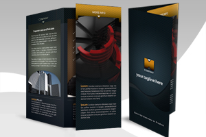 Free Tri-Fold Brochure Templates Photoshop