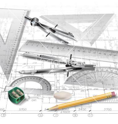 Free Vector Architectural Plans