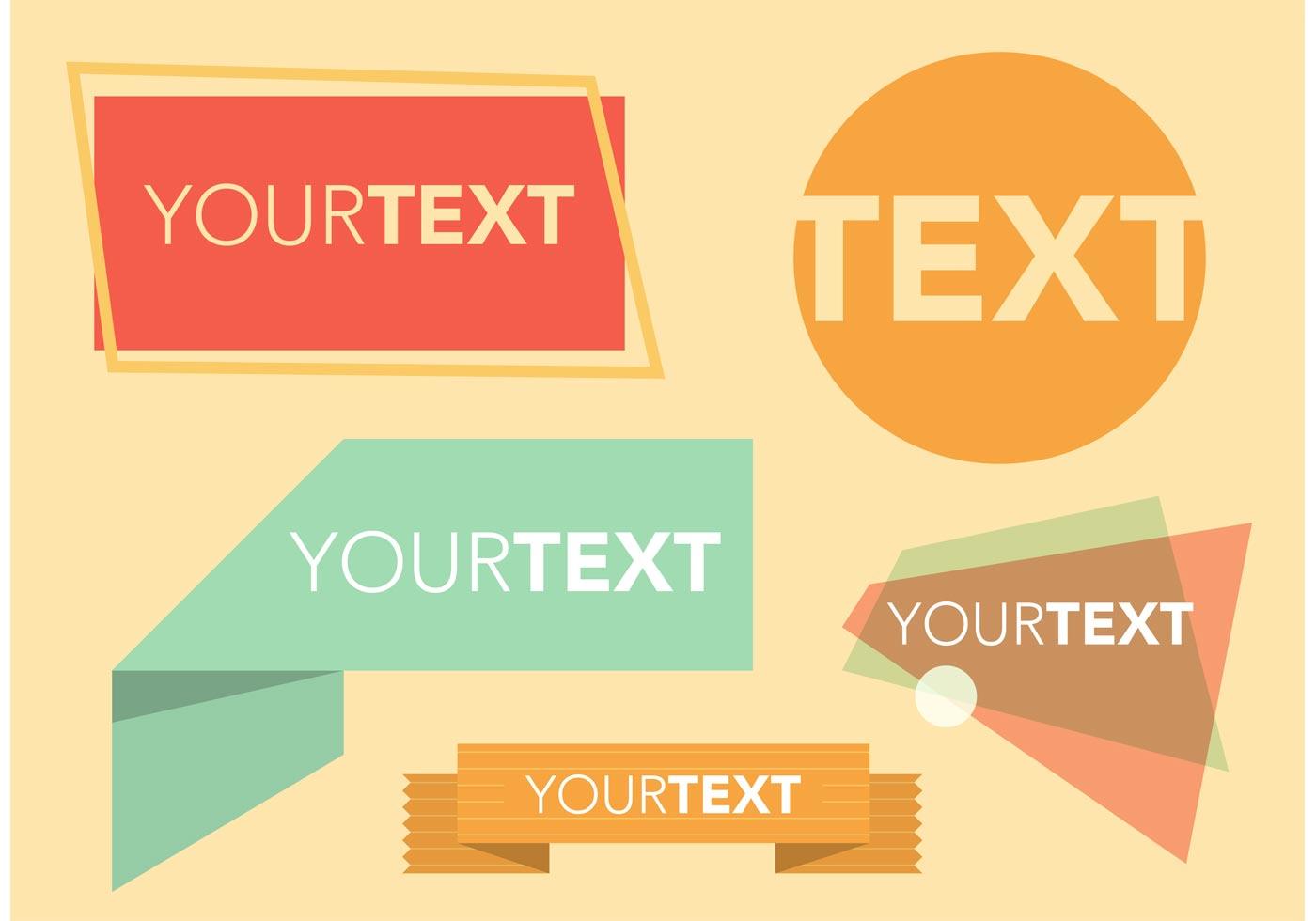 15 Vintage Text Box Vector Images - Decorative Text Box ...