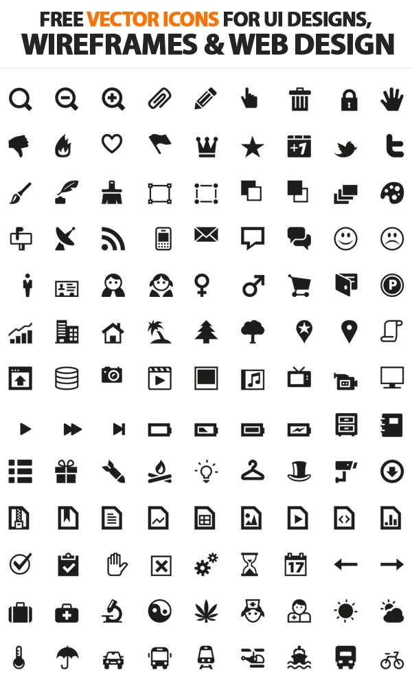 14 Free Vector Icons Architecture Images