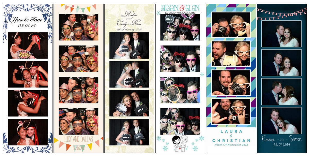 Free Wedding Photo Booth Strip Template