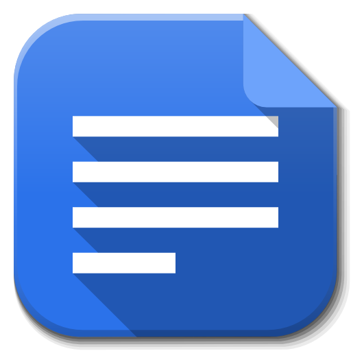 6 Google Docs Icon Images
