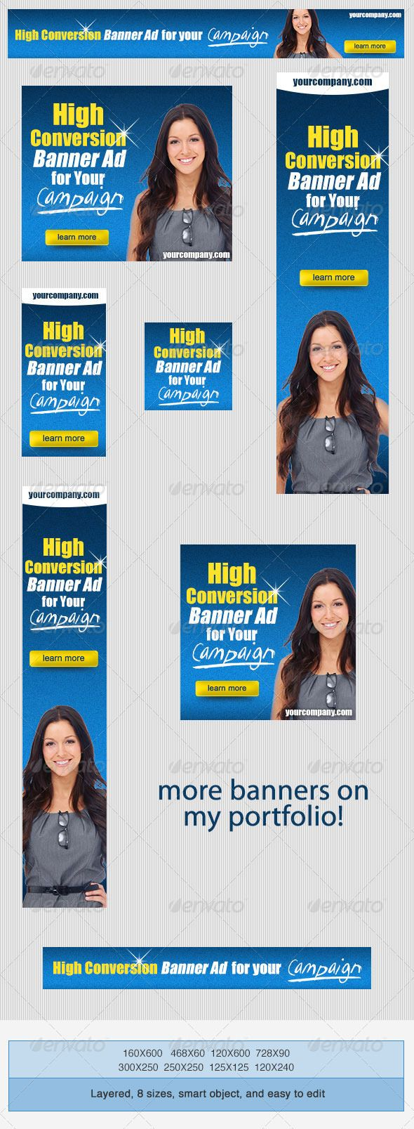 GraphicRiver Banner Ad Templates