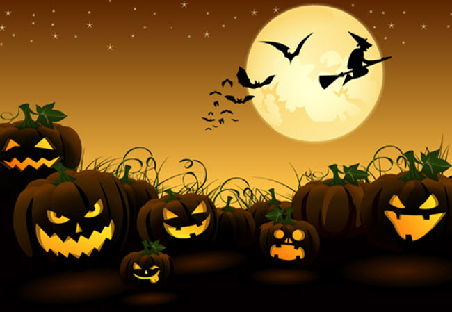 8 Halloween Vector Free Download Images