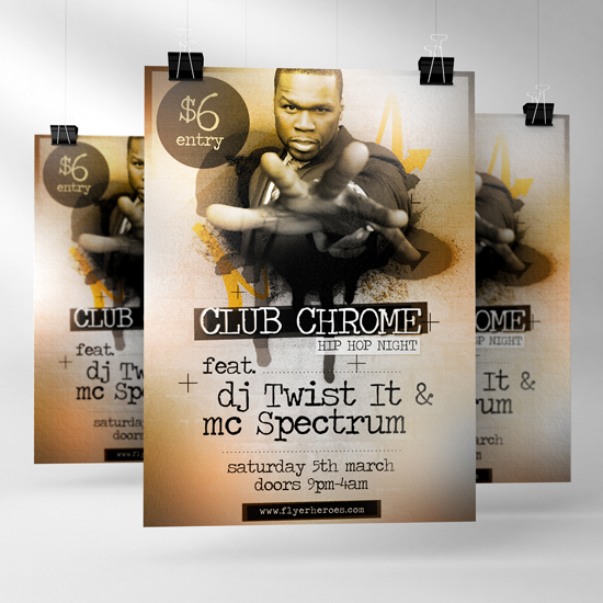 Hip Hop Flyer Template Free