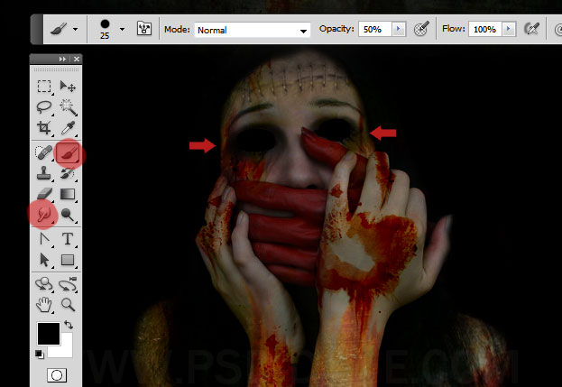 Horror Movie Poster Photoshop Tutorial