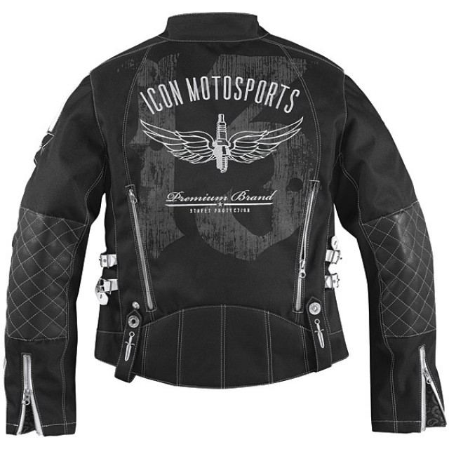 Icon Leather Motorcycle Jacket Women