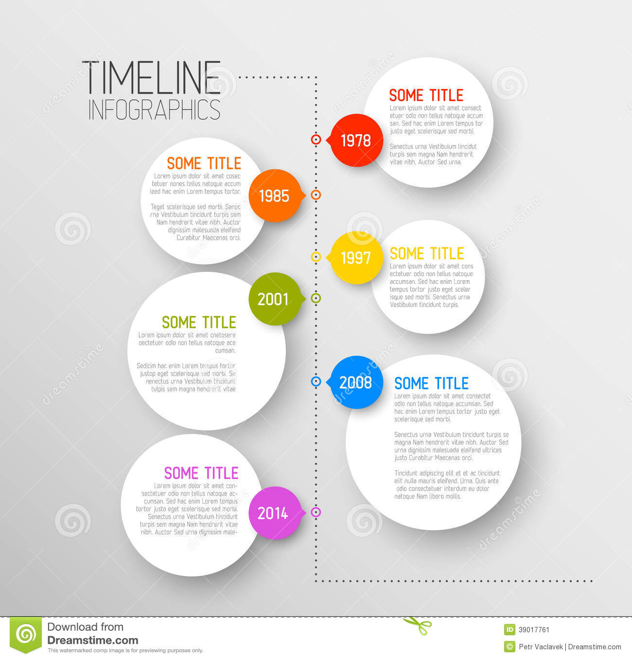 16 Timeline Template Infographic Images