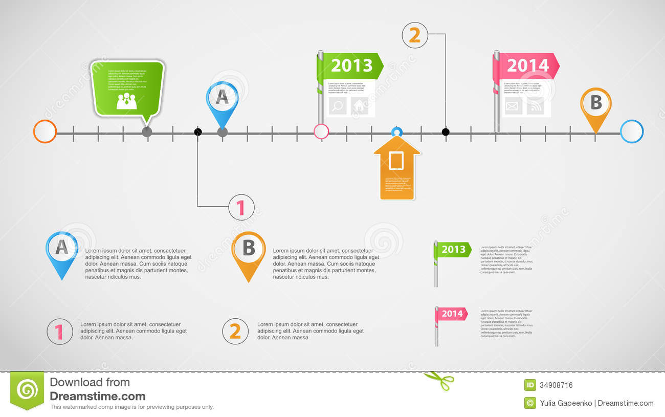 16 Timeline Template Infographic Images - Infographic ...