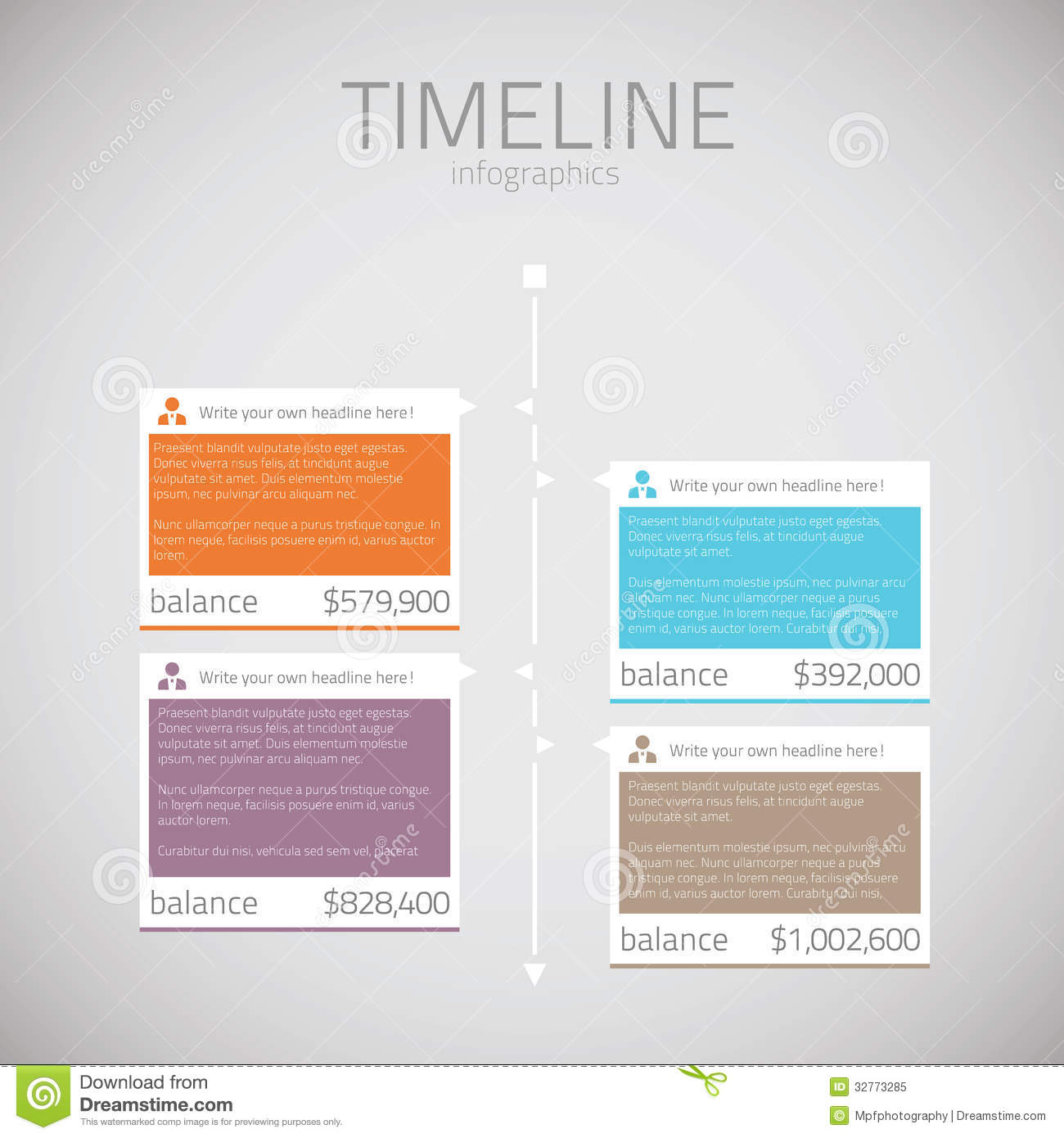 8 Vector Infographic Template Images - Free Infographic ...