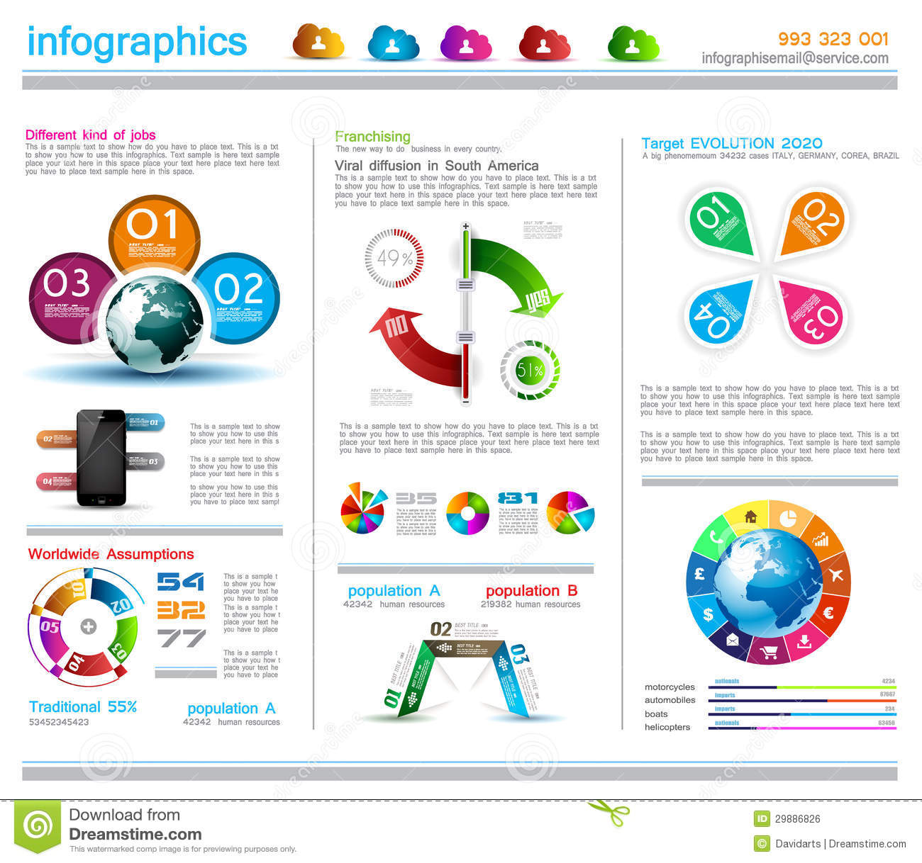 13 Infographic Design Templates Nature Images