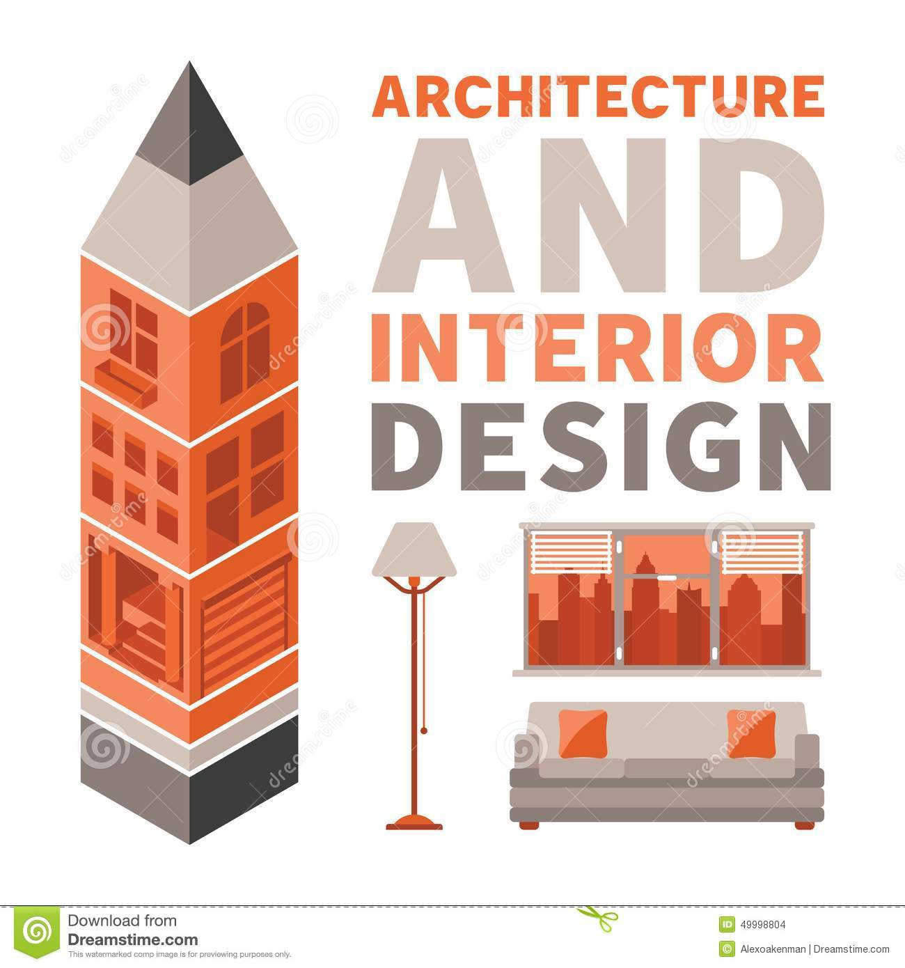 12 architecture design vector images architecture for Interior design images vector