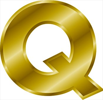 Letter Word Using G And Q