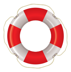 9 Pics Life Preserver PSD Icons Images