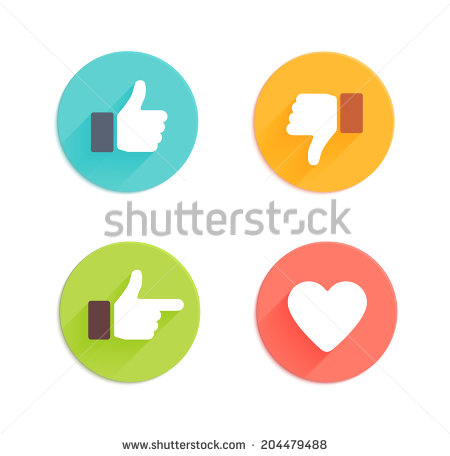 13 Heart Like Icon Vector Images