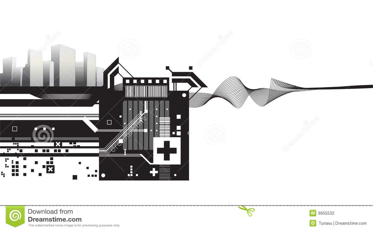 12 architecture design vector images architecture for Via design architects