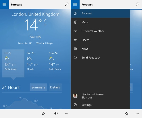 12 MSN Weather Desktop Icons For Windows 10 Images - Desktop Weather