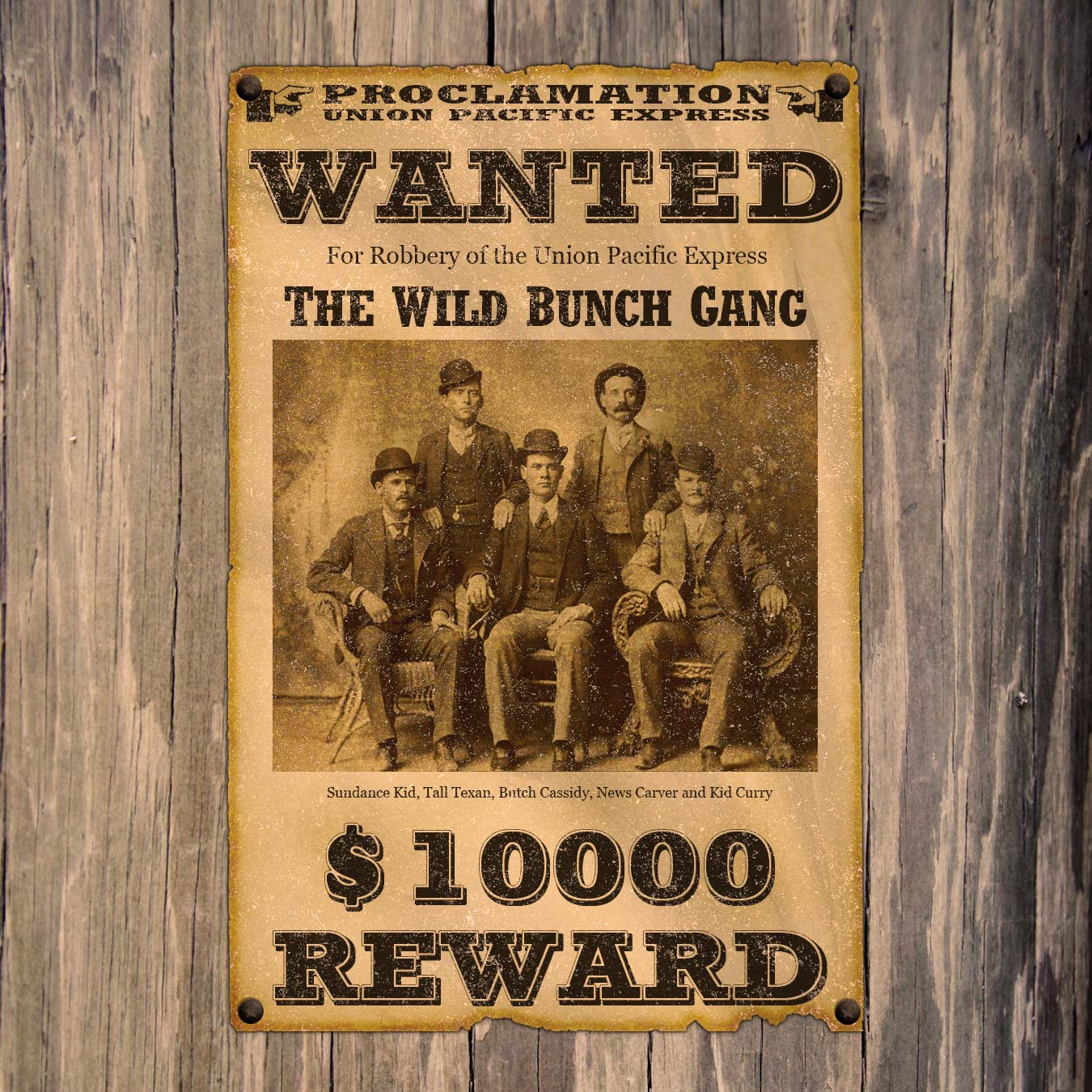 Old Western Wanted Poster Templates Free