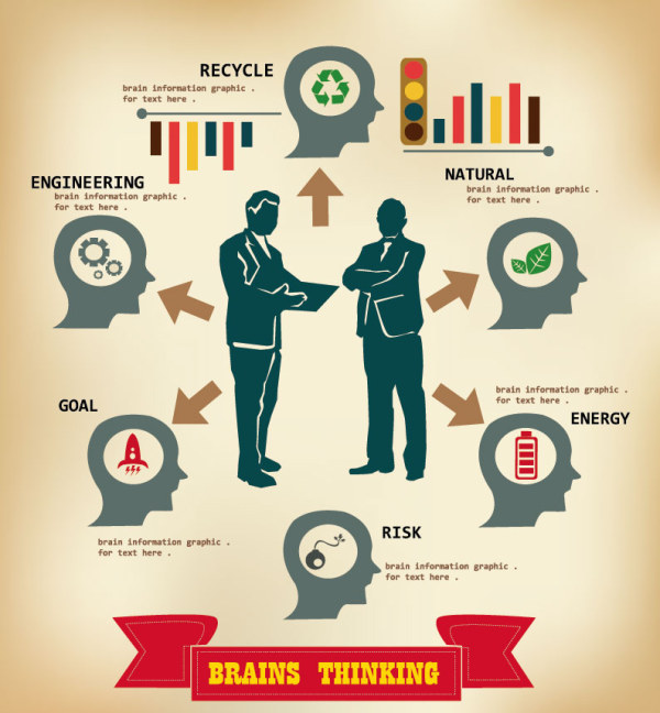 People Infographic Vector Free