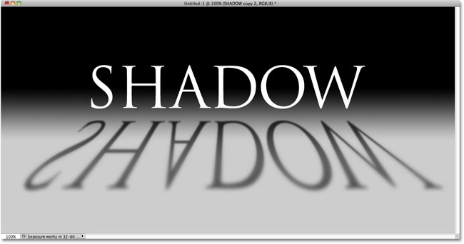 8 Shadow Text Effect Photoshop Images