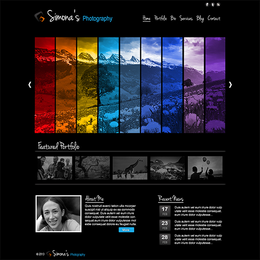 14 Photography Templates For Photoshop Images