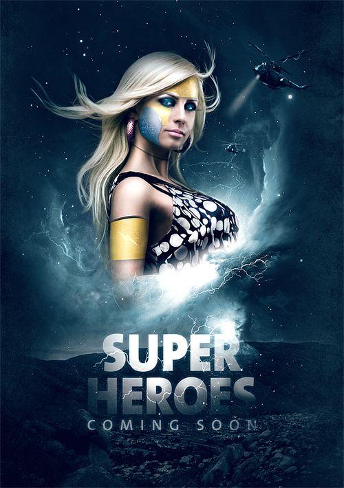 Photoshop Tutorials Movie Poster