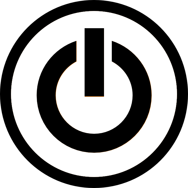11 Vector Power Button Icon Images