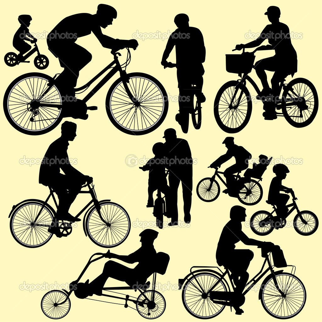 11 Free Vector Bicycle Tour Images - Bicycle Vector Art ...