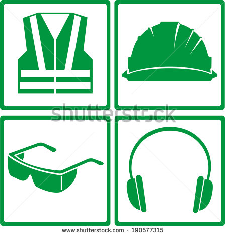 Safety Glasses Icon Vector