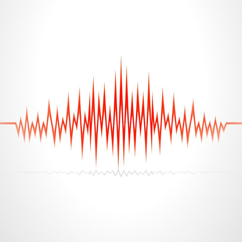 12 Sound Waves Vector Free Images