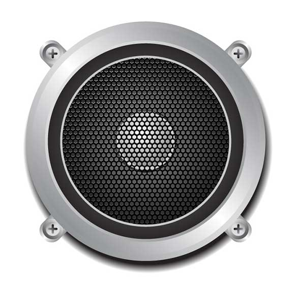 5 Speaker Vector Art Images