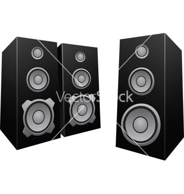 7 Speaker Cone Vector Images