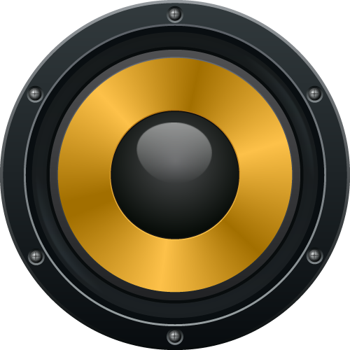12 Vector Bass Speaker Images